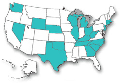 States with pool emergency phone requirements.